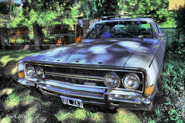 Ford en Sierra de la Ventana
