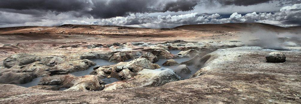 Zona de geysers