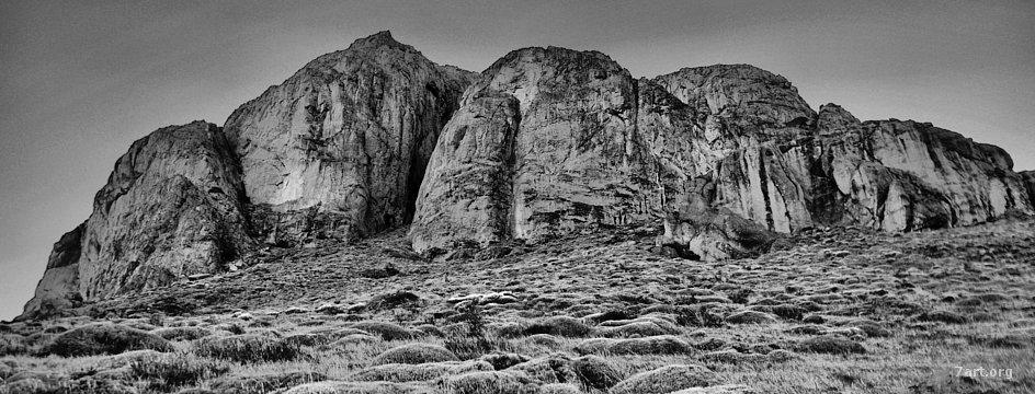 Chaltén y la roca