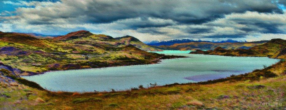 Another lake – Ultraretinex'd