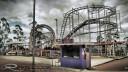 Pintando 'the rollercoaster'