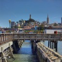 Fisherman's dwarf's wharf