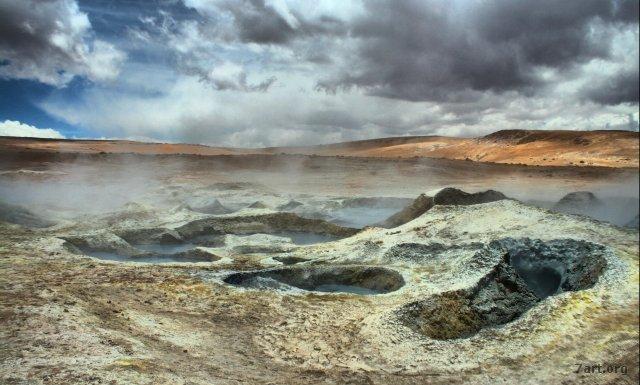Zona de geysers II