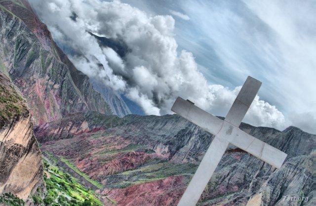 Iruya – Otra cruz en un cerro
