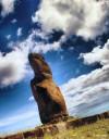 El primer moai con el que topé