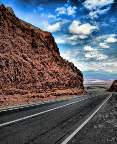 Roads (colourful)