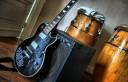 Mi reconstrucción (tentáculos cthuloideos incluídos) de la guitarra de Diego